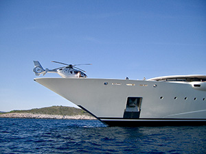Vessel Support - Heliriviera Caribbean - We facilitate your Heli-Yacht operation across the Caribbean